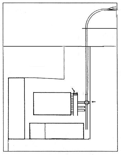 Depotsituation 1876 bis 1893 Nymphenburgstrasse depot betriebshof karte gleisplan