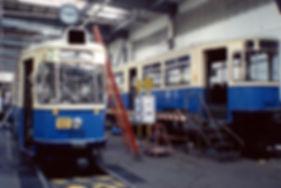 Mm4-Zug Nr. 2412+3407 werden zur HU vorbereitet tram münchen fmtm