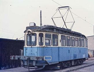 Werkstattwagen  Typ: W 12.8 tram münchen Betriebsnummer 2952