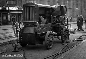Kompressor Nummr VIII im Januar 1943 münchen tram