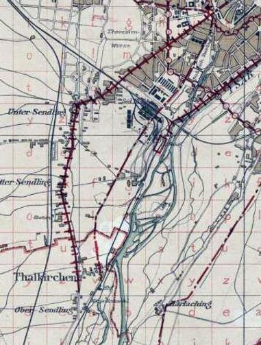 1895  Harras Planung Trambahn Eisenbahn.