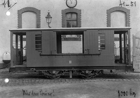 Salzwagen  Typ: s 1.51 Betriebsnummer: 41 münchen tram