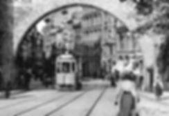 B-Tw 391 fährt durch das Sendlinger Tor 1908 München Tram