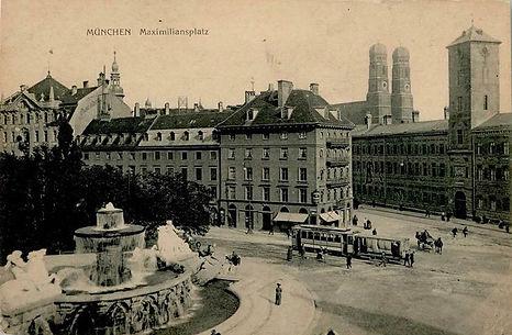 Maximiliansplatz Wittelsbacher brunnen.j