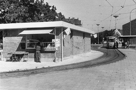 Neue Schleife Ramersdorf 1960 tram trambahn münchen