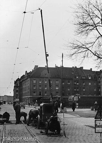 Kompressor VI im Jahr 1943 münchen tram