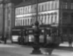 C 1.6-Tw 465+ c-Bw am Odeonsplatz auswärts 1916 tram München