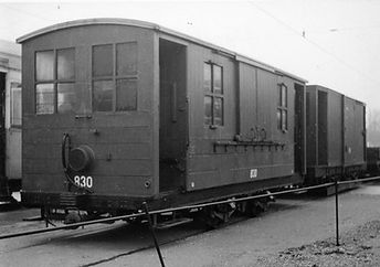 Salzwagen  Typ: s 2.46 Betriebsnummer 830 münchen tram