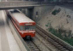 Nürnberger U-Bahn zur Aushilfe im Olympia-Verkehr 1972 unterwegs tram münchen u-bahn