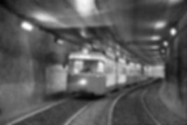 Tw 2012 in der Petuel-Unterführung auswärts 1993 münchen tram