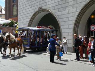 Pferdetram auf dem Stadtgründungsfest 16./17.Juni 2018