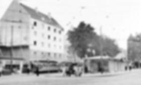 Alte Umkehrschleife am Kurfürstenplatz tram trambahn FMTM München