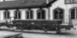 Der Wagen 871 / 2871 / 3921 wurde ab 1960 zum Unkrautvertilgungs-wagen umgebaut tram münchen