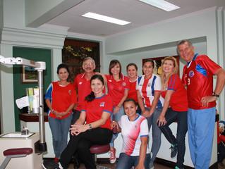 Apoyando la seleccion de futbol de Costa Rica