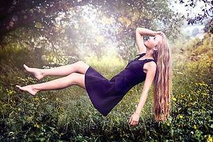 levitační fotografování