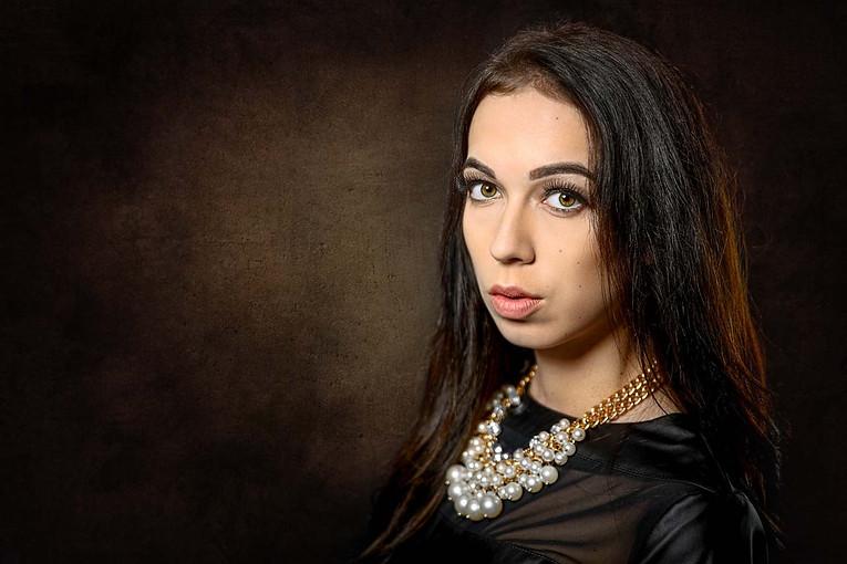 Portrétní focení v ateliéru v Boršicích