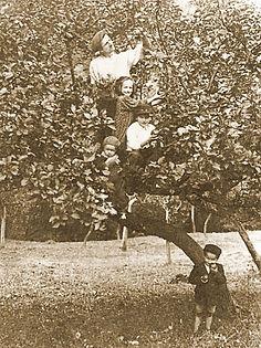 historické rodinné foto