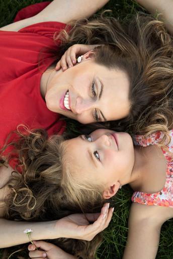 focení maminky s dcerou Zlínský kraj