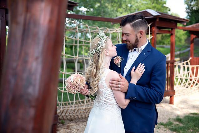 Svatební focení Na Haldě