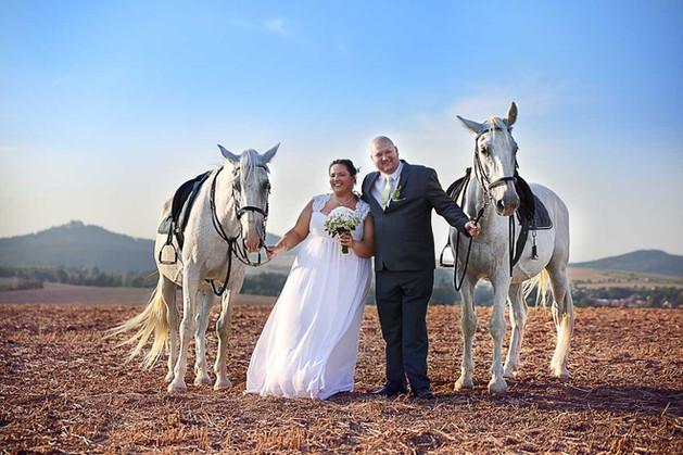 Svatební focení a koně