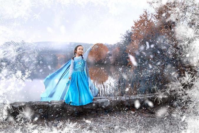 zimní focení v přírodě