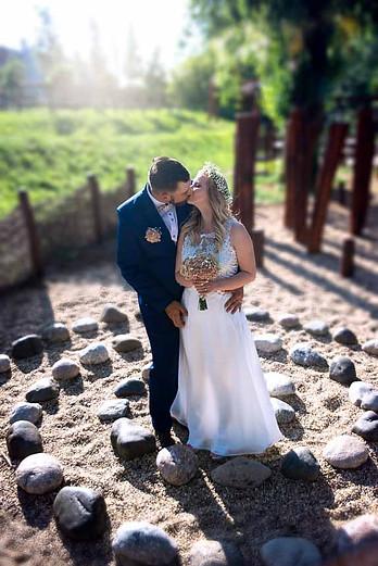 svatební focení v exteriéru