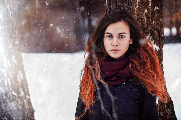 Zimní focení Uherské Hradiště