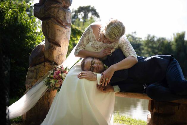 svatební focení u vody