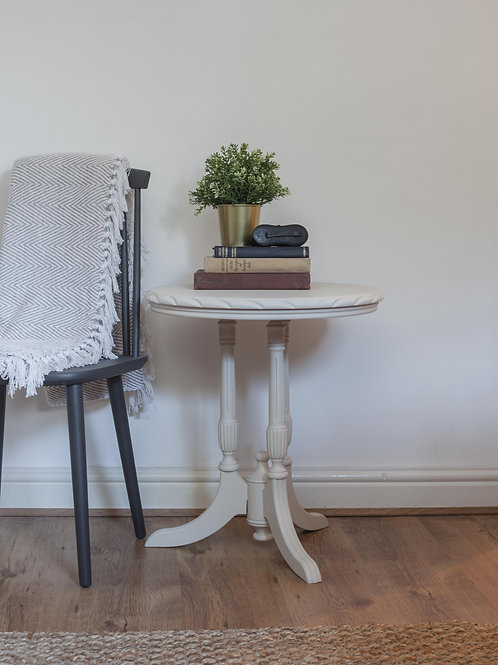 Wooden Vintage Lamp Table