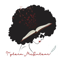 author afro logo transparent background