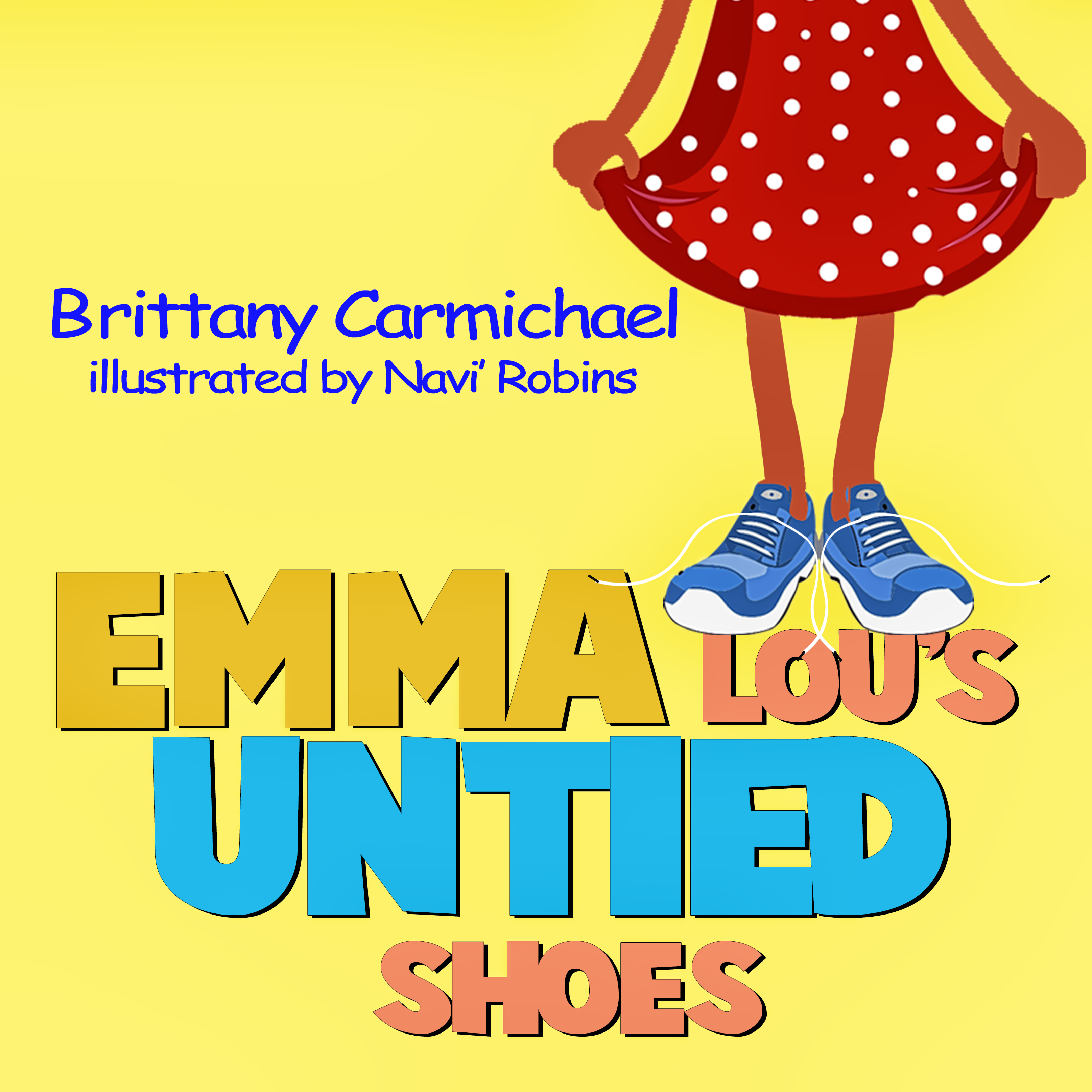 front cover emma lou's untied shoes