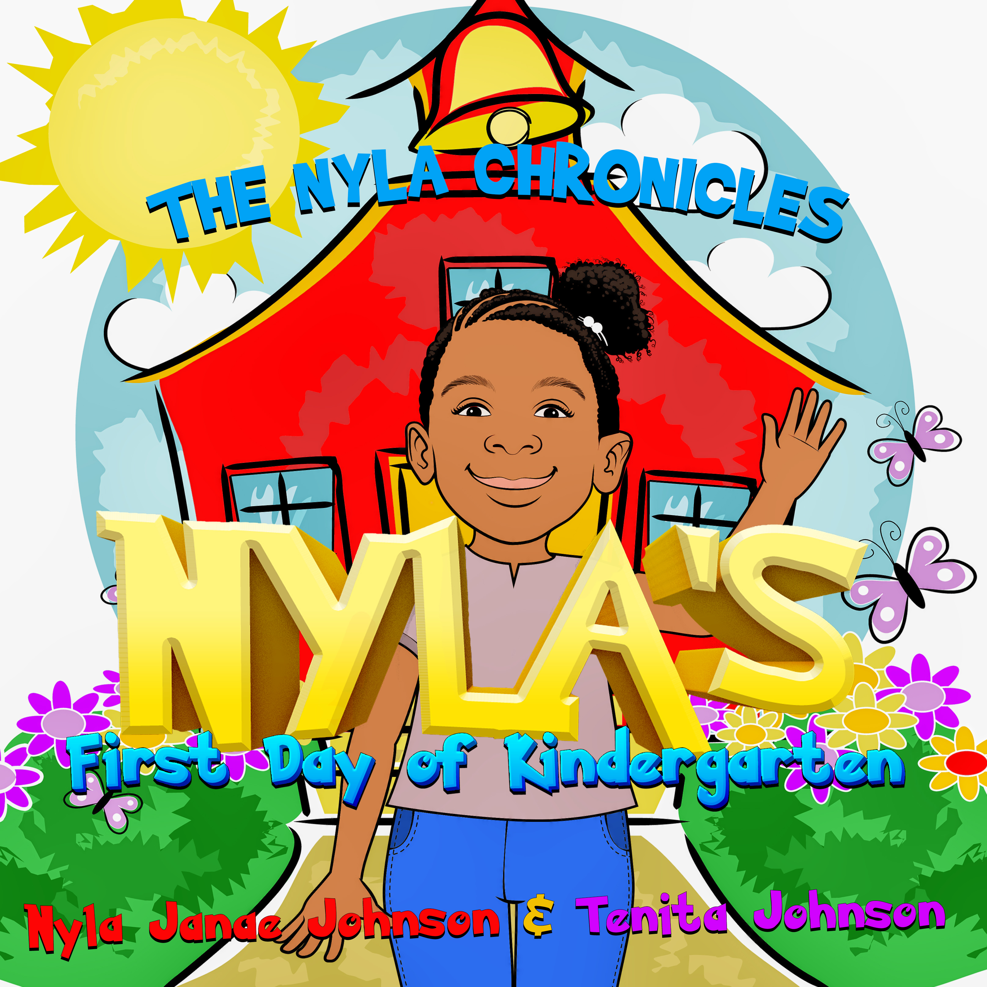 Nyla's First Day of Kindergarten book co
