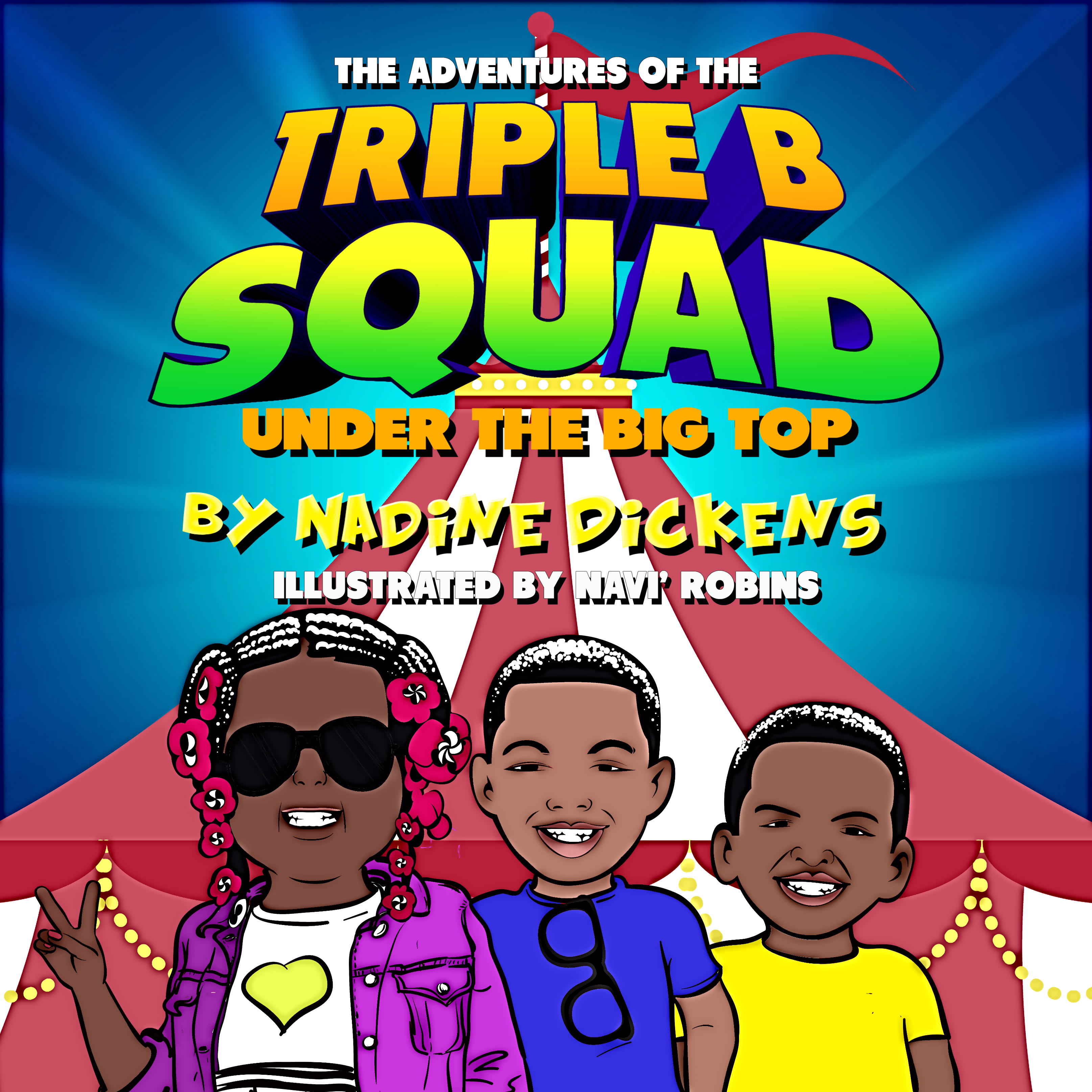 triple b squad book cover first concept