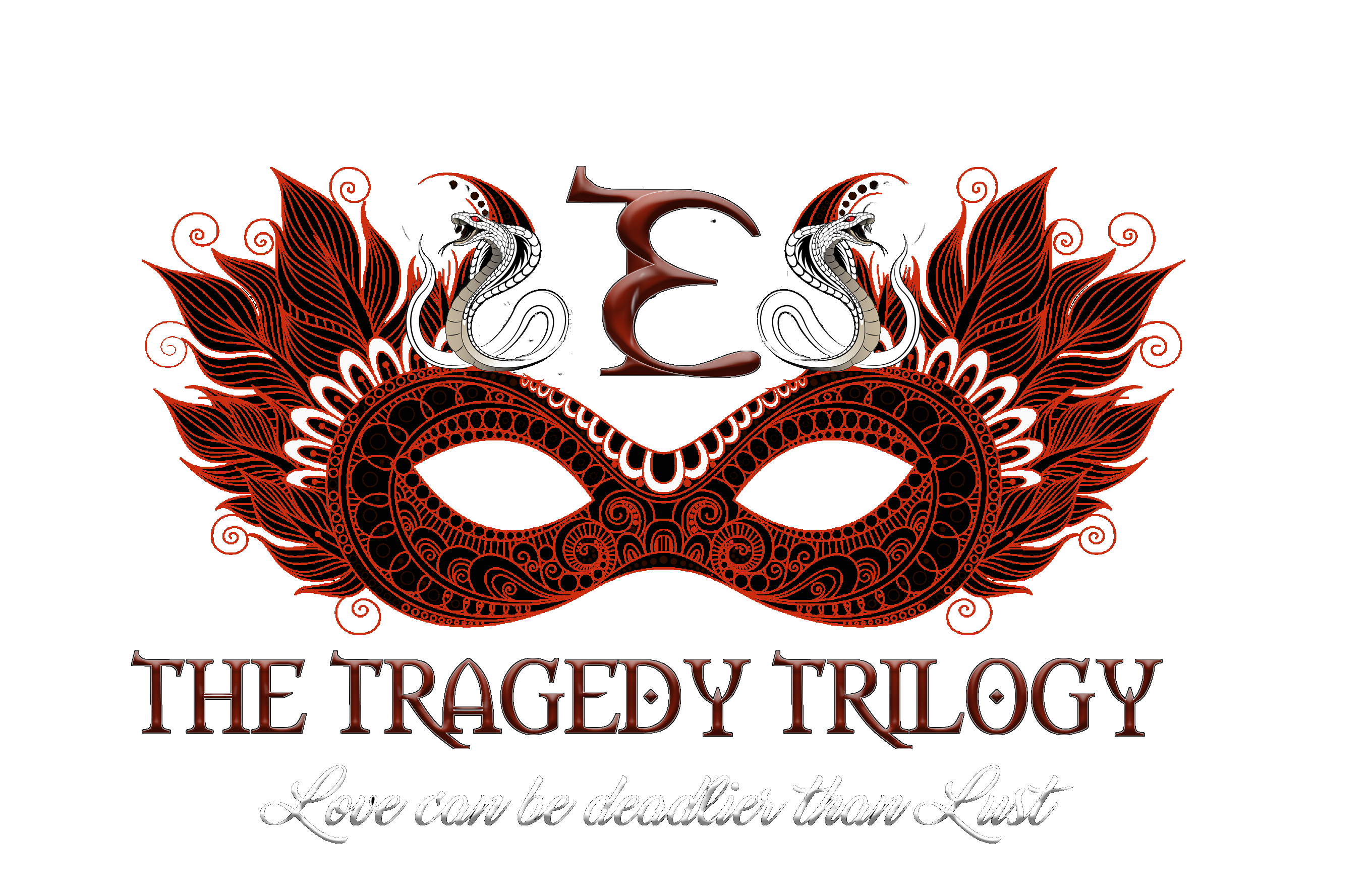 the tragedy trilogy front t shirt art transparent