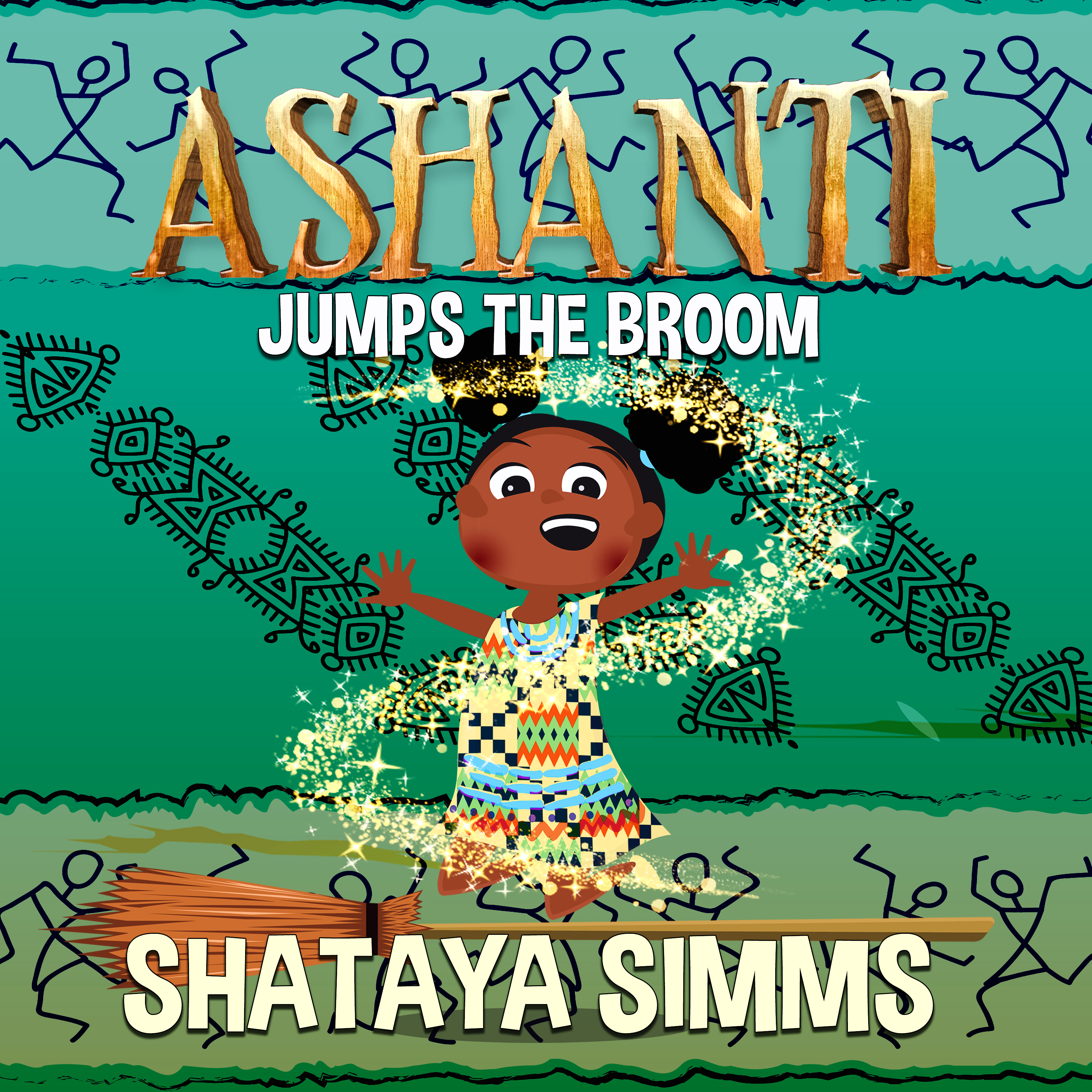 ashanti jumps the broom first concept