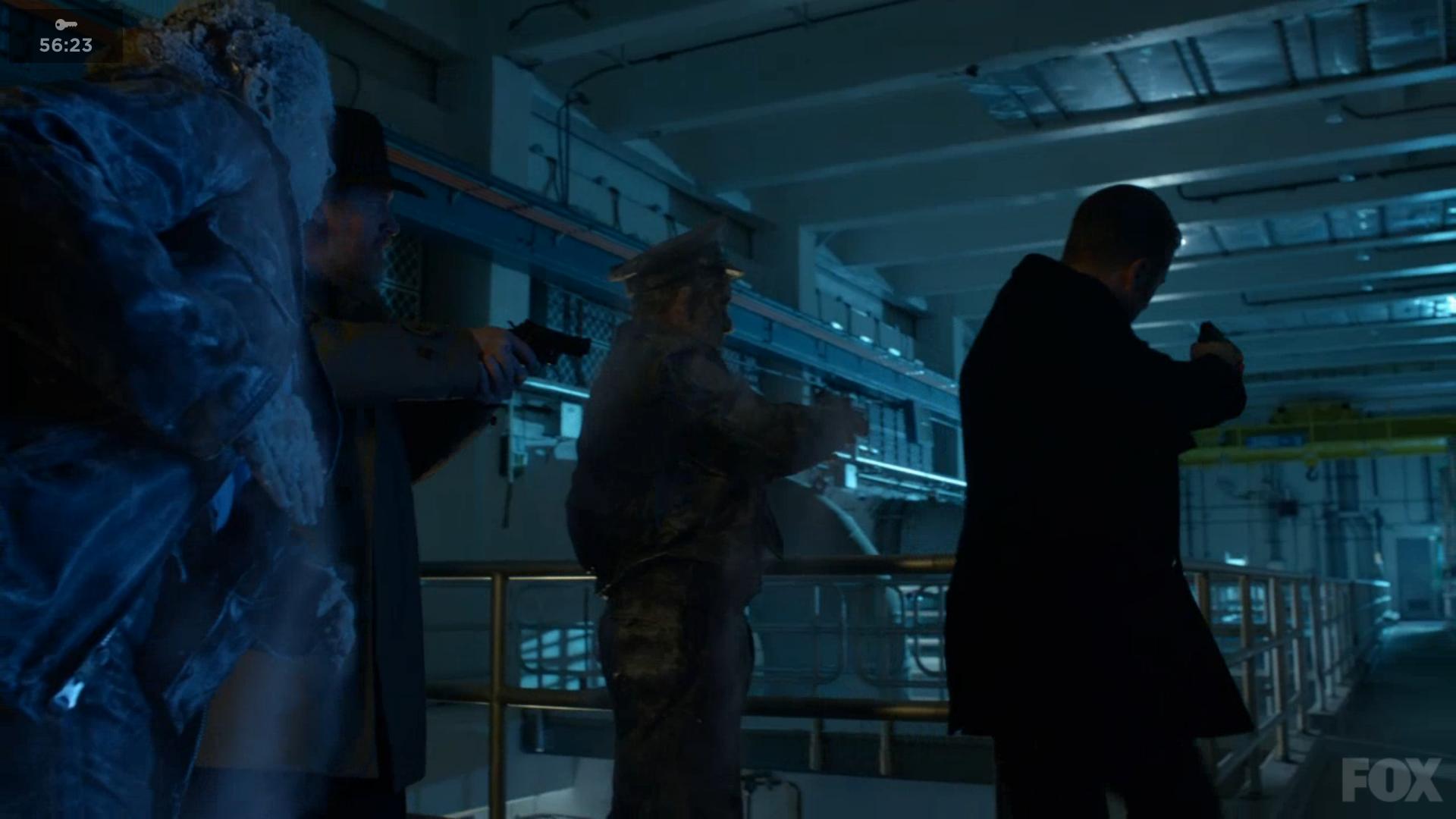 Frozen Gotham City Police Officer