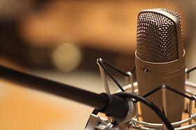 レコーディングスタジオマイク