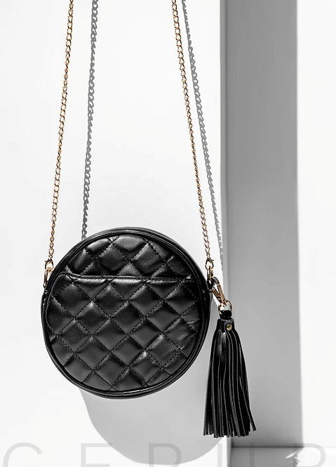 Quilted Round Bag