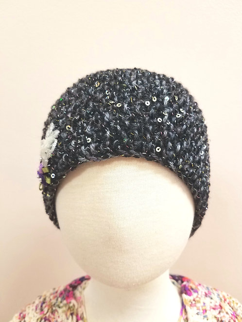 Sparkling Headband With Flowers