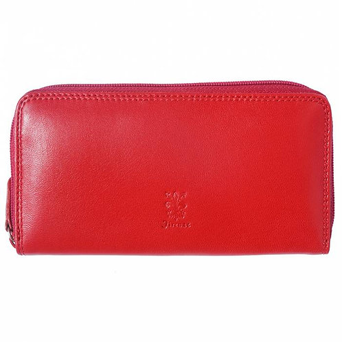 Wallet in Soft Leather From Italy