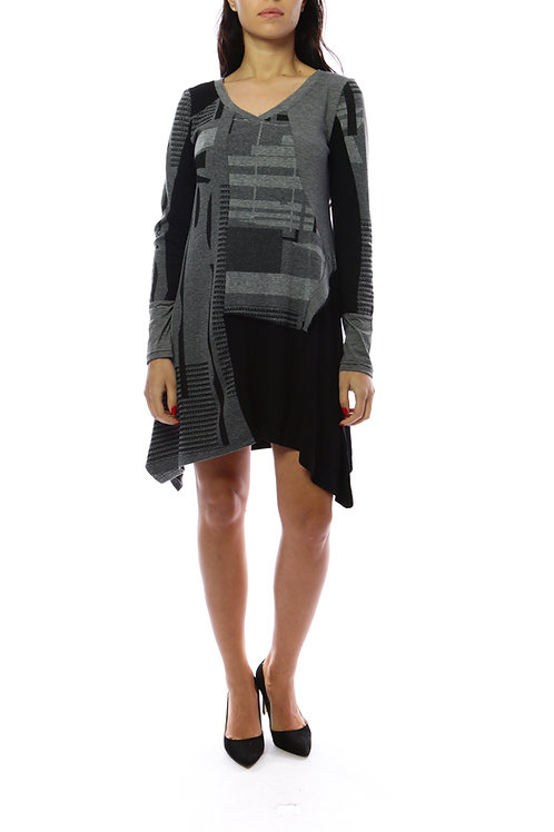 A-Line Asymmetrical Tunic/Dress