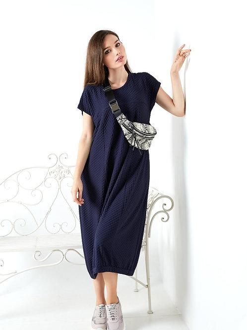 Midi Freestyle Dress With Pockets