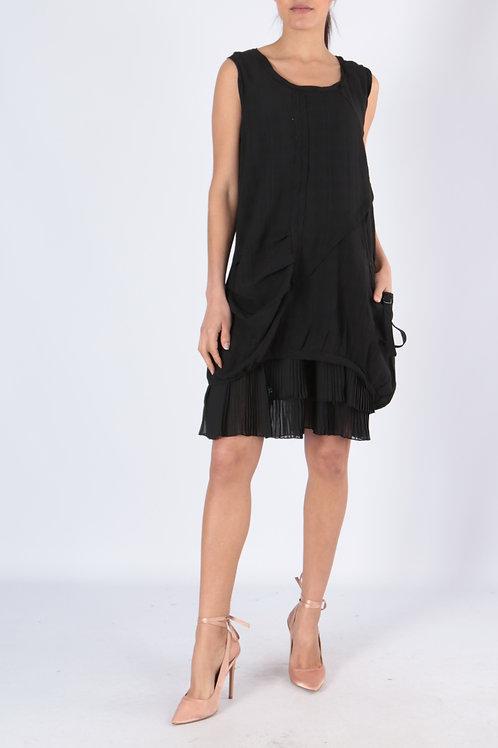 Sleeveless Dress With Detachable Lining