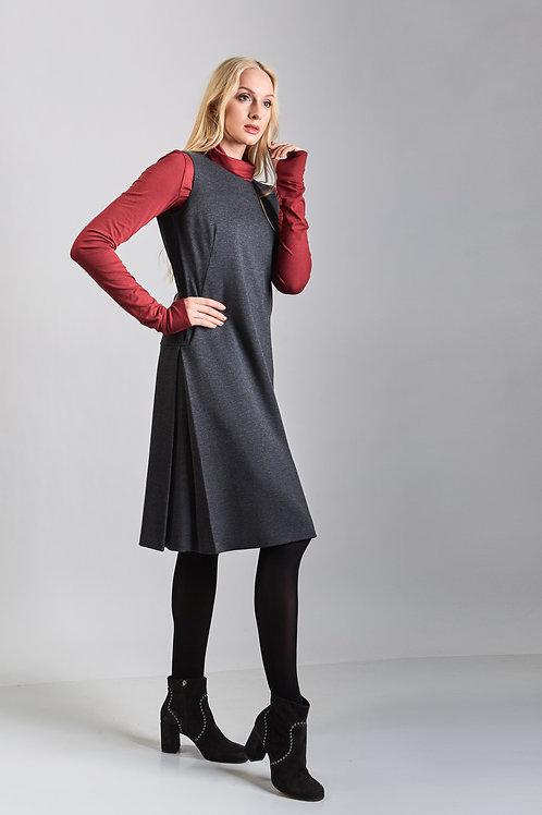 Grey Sleeveless Sarafan/Dress