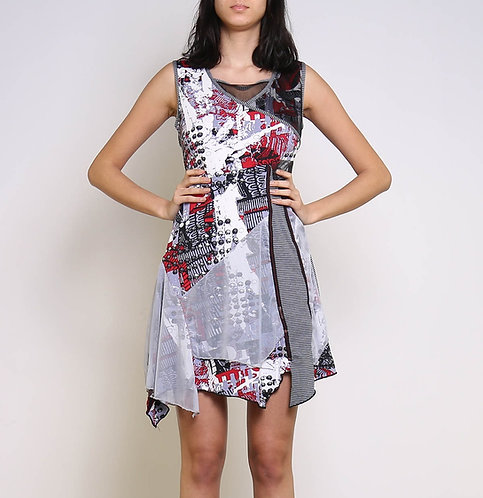 Cotton Mix, A-Line Dress