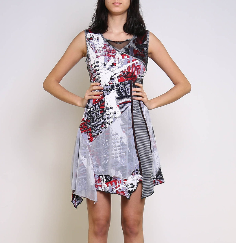 Cotton Mix, A-Line Dress