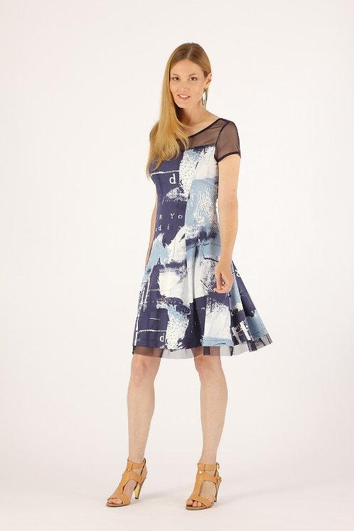 """Splash"" Dress By Luc Fontaine"