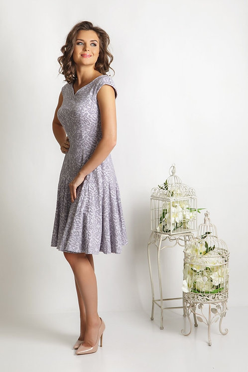 Beautiful Lilac A-Line Dress