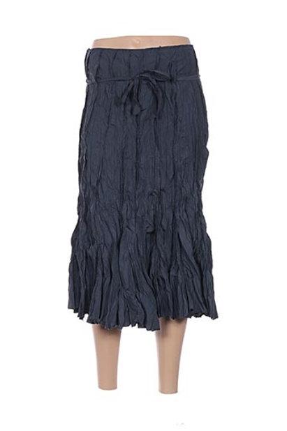Midi Crinkle Skirt With Belt