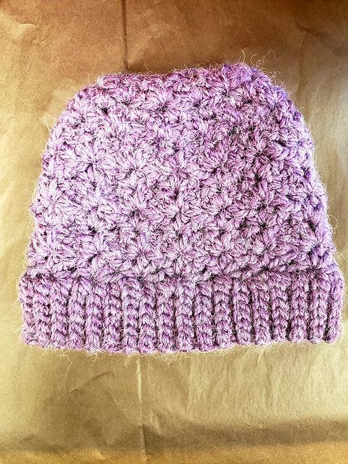 Winter Beanie Hat-Handknitted